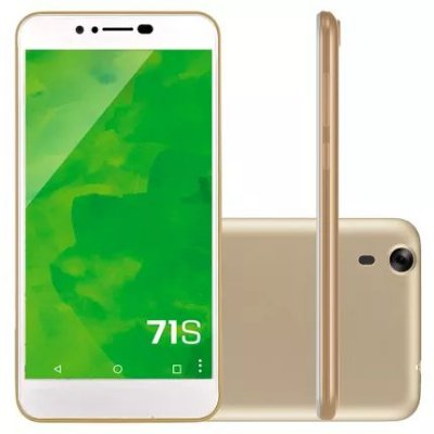 Smartphone 71S Dourado 1002 - Mirage