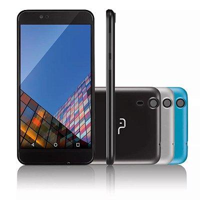 Smartphone MS55 Tela 5,5 Quad Core Preto P9003 - Multilaser