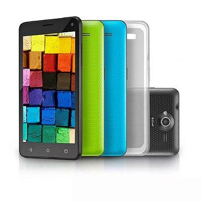 Smartphone Celular Ms50 Preto Cartão 16gb P9030 - Multilaser