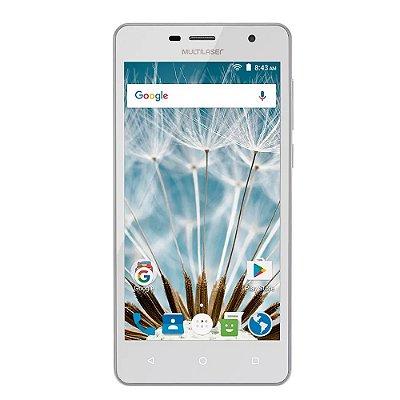 Smartphone Celular Ms50s 8mp 3g Branco P9050 -  Multilaser