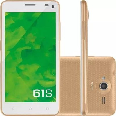 Smartphone Celular 61s 3g 8mp Dourado P9018 - Mirage