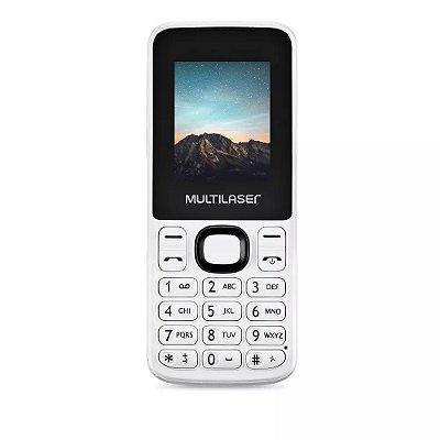 Celular 2 Chips New Up Branco P9033 - Multilaser
