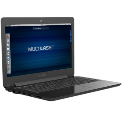 Notebook 4GB 500GB Dual Core Linux PC204 - Multilaser