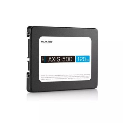 SSD Axis 500 Sata 3 120GB SS100 - Multilaser