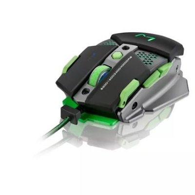 Mouse Gamer Warrior 4000DPI Macro 9 Botões MO249 - Multilaser