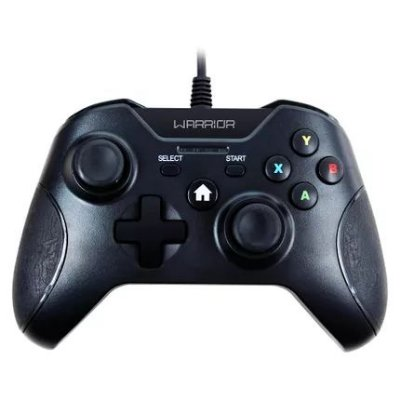 Controle Xbox One Warrior Multilaser Preto JS078 - Multilaser