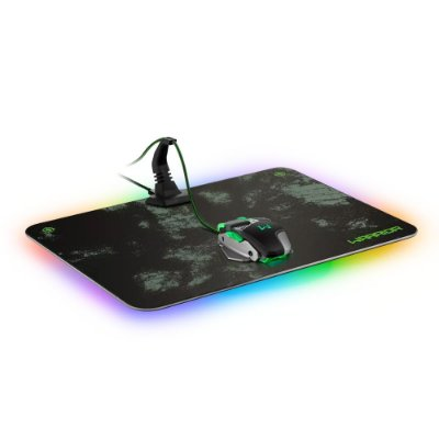 Mouse Pad Gamer Warrior Led RGB Com Bungee AC299 - Multilaser