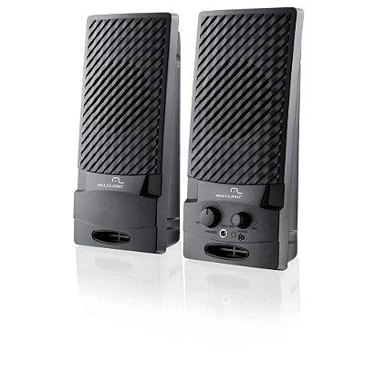 Caixa De Som PC Usb Caixinha Portátil Sp050 - Multilaser