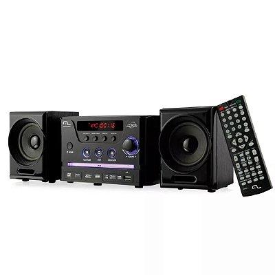 Caixa De Som Mini System Dvd Usb 30w Rms SP141 - Multilaser