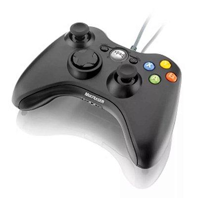 Controle Joystick Dualshock Xpad Pc Xbox360 JS063 - Multilaser
