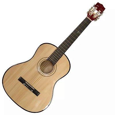 Violão Acústico Infantil Instrumento Musical Criança 5821 Shiny Music