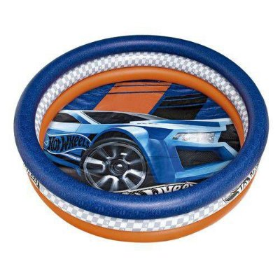 Piscina Infantil Inflável Carro Hot Wheels 135L 8073-0 Fun