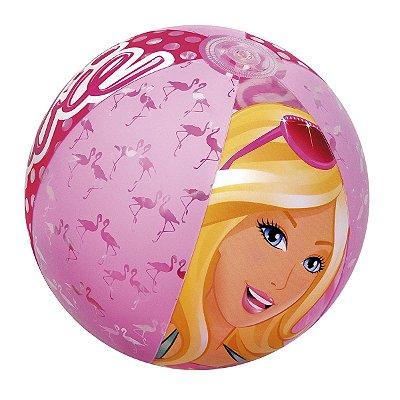Bola Inflável Barbie 61cm Infantil Piscina Praia 7671-1 Fun