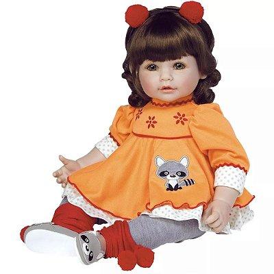 Boneca Macaraccoon Bebê Realista 217901 Menina Adora Doll