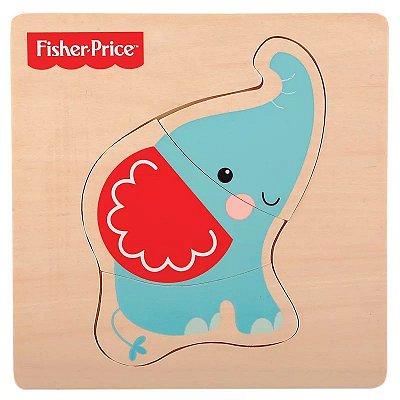 Meu Primeiro Quebra Cabeça Animal Elefante 7736-2 Fisher