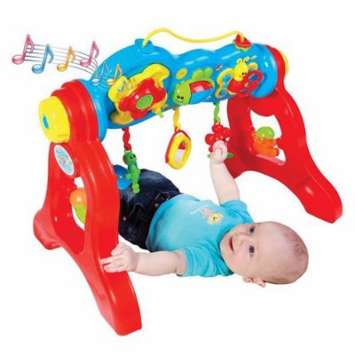 Centro de Atividades Play Gym Brinquedo de Bebê com Som