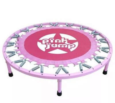 Cama Elástica Trampolim Pink Jump Academia Fitness - Polimet