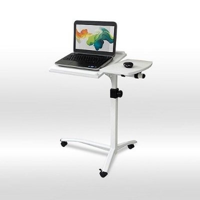 Mesa Luxo Table Mate Notebook Ajustável Reclinável - Branca
