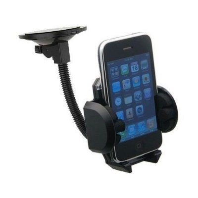 Suporte Veicular Universal Celular Ipod Iphone Gps Mp3 Mp4