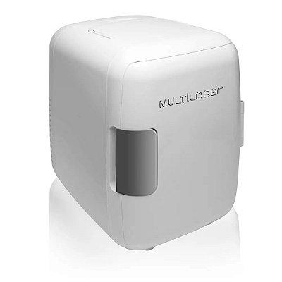 Mini Geladeira Portátil 4 Litros  12V 110V Refrigera e Aquece Multilaser