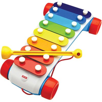 Brinquedo Bebê Fisher Price Xilofone Instrumento Musical CMY09