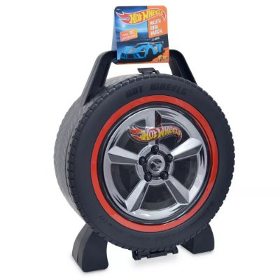 Maleta Hot Wheels Porta Carrinhos Roda Radical para 36 Carros - Fun