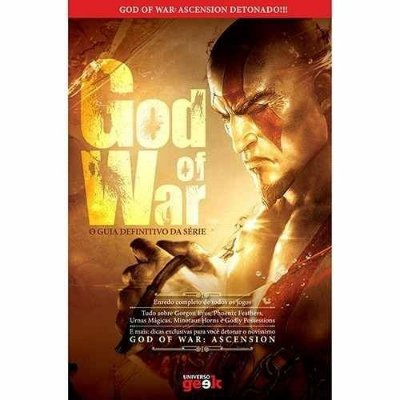 Livro God Of War O Guia Definitivo Da Série Dicas Ascension