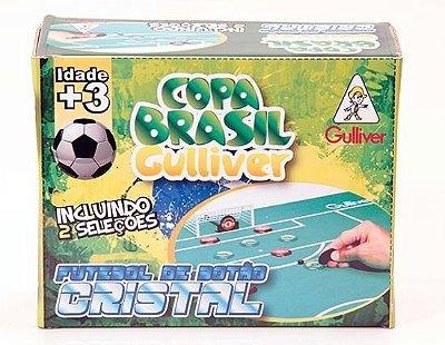 Futebol De Botão Cristal 2 Seleções Brasil x Argentina
