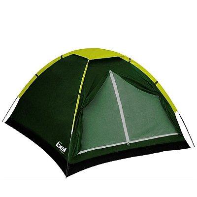 Barraca Camping Iglu 2 Pessoas c/ Sobre Teto Belfix