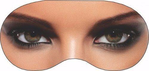 Máscara De Dormir Divertida Feminino Tapa Olhos Sono Viseira