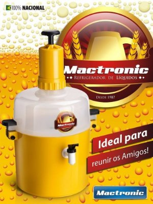 Chopeira Chopp Cerveja Mactronic 3,5l Residencial - 10 Latas