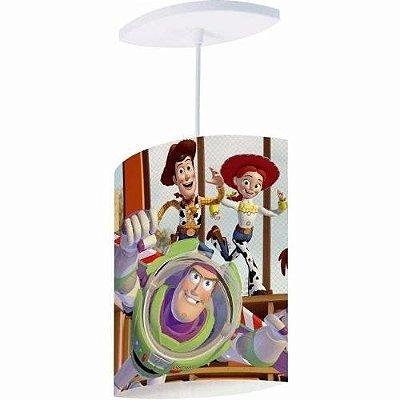 Pendente Luminária Infantil Toy Story Oval Lustre De Teto