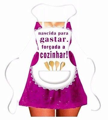 Avental Divertido Mulher Vestido Aventais Leleco Churrasco