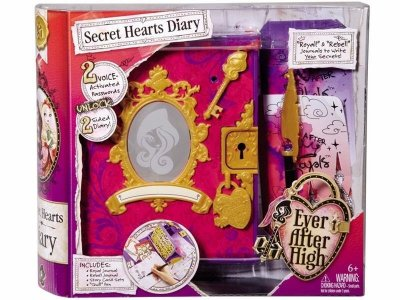 Diário Secreto Encantado Ever After High Eletrônico - Mattel