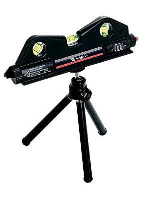 Nível A Laser Prumo 170mm Com Tripe de 150mm - 3 Bolhas  - Mtx