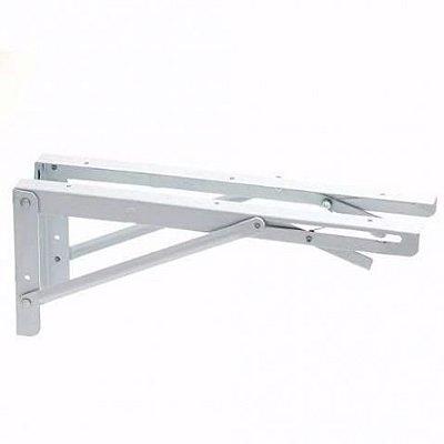 Suporte Dobrável de Prateleira - 50 cm (02 unidades)