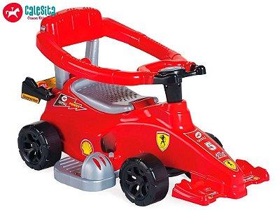 Carrinho de Passeio Speed Flash Completa 2 em 1 Brinquedo Infantil com Alça - Calesita