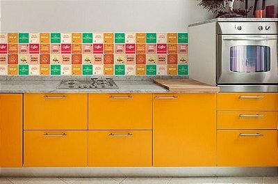 Papel de Parede Adesivo Vintage Cozinha Barzinho