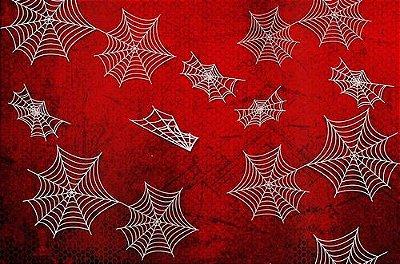Papel De Parede Adesivo Spider Teia de Aranha