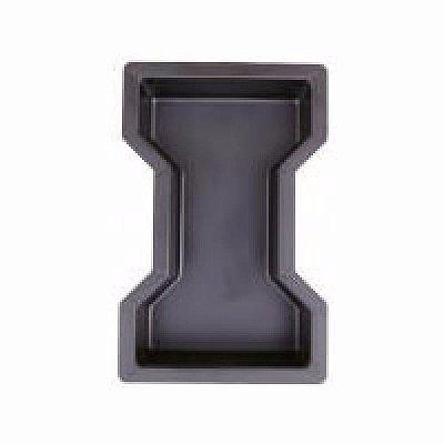Forma Ossinho Chanfrado Bloquete Tijolo 25x15x6cm - FP014