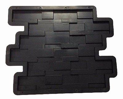 Kit Forma Plástica 29x28,5x1,5 Revestimento Parede Fp138 - 10 Peças