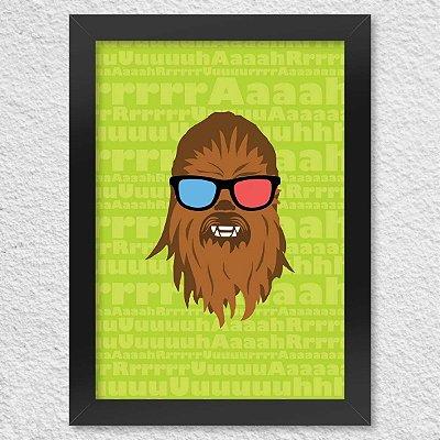 Poster com Moldura Geek Side - Bacca