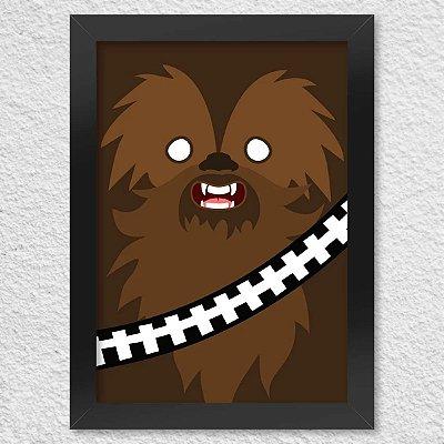 Poster com Moldura Geek Side Faces - Bacca