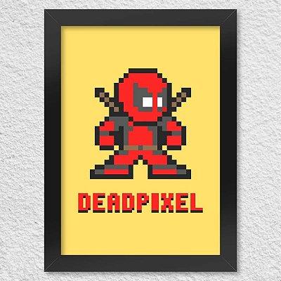 Poster com Moldura - Dead Pixel
