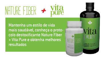 protocolo destoxificante Nature Fiber + Vita Pure