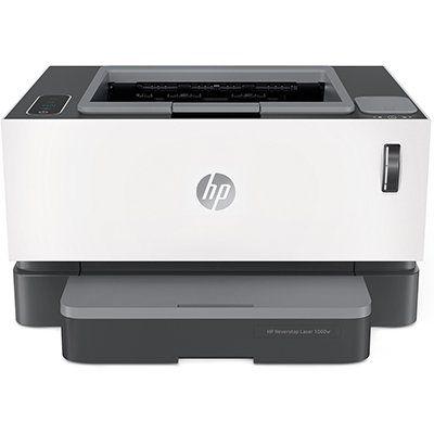 Impressora Tanque de Toner Conectada Neverstop 1000w 4RY23A, Monocromática, Wi-fi, Conexão USB, HP