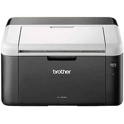 Impressora Laser HL1212W, Monocromática, Wi-fi, Conexão USB, 110v - Brother