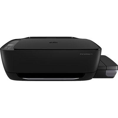 Impressora Multifuncional tanque de tinta Ink Tank 416 preta Z4B55A, Colorida, Wi-fi, Conexão USB, Bivolt - HP