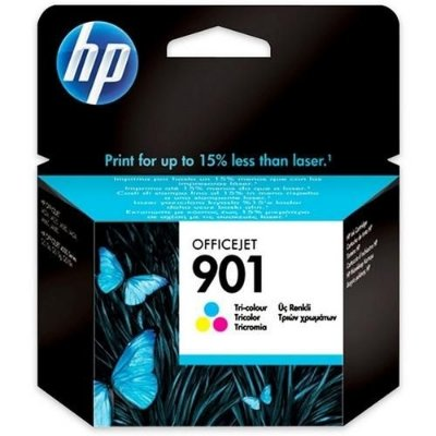 Cartucho de tinta HP CC656AL / 901 - tricolor com 13 ml para impressoras HP Officejet J4540 / J4550 / J4580 / J4680 - ORIGINAL HP