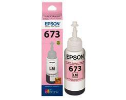 REFIL DE TINTA EPSON MAGENTA CLARO PARA IMPRESSORA L800, L805 E L1800 - T673620-AL  ORIGINAL EPSON